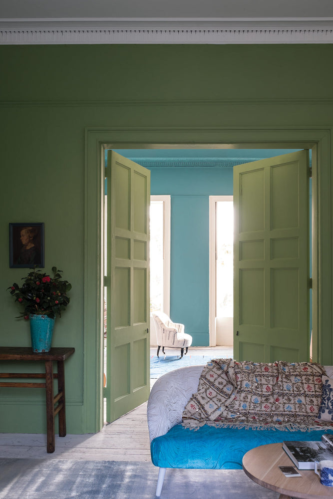 Farrow & Ball Wandfarbe - Yeabridge Green 287