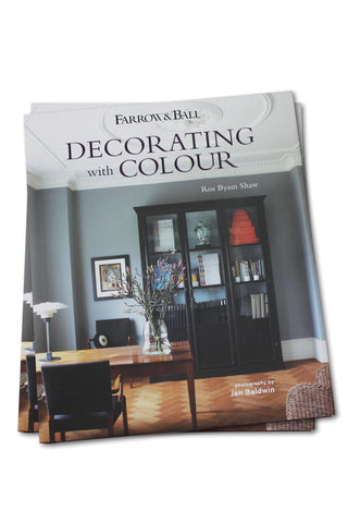 Buch - Decorating With Colour - Farrow & Ball