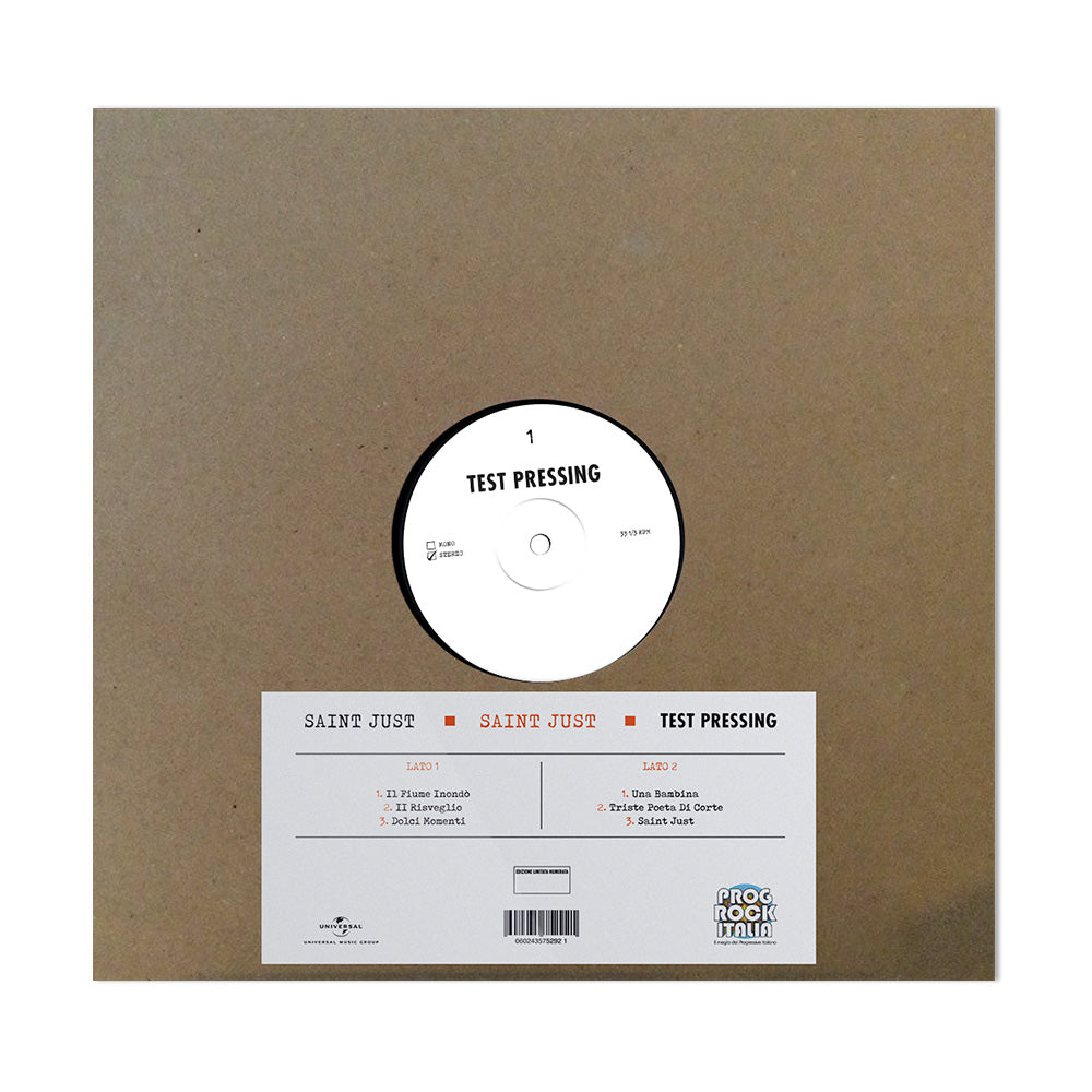Saint Just (Vinile Test Pressing)