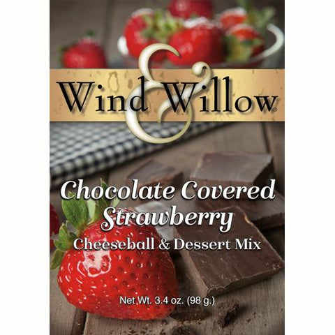 Wind & Willow Chocolate Covered Strawberry Cheeseball and Dessert Mix