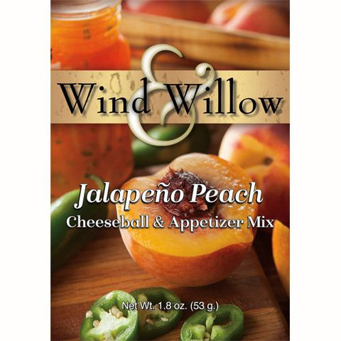 Wind & Willow Jalapeño Peach Cheeseball and Appetizer Mix