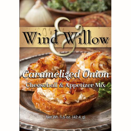 Wind & Willow Carmelized Onion Cheeseball and Appetizer Mix