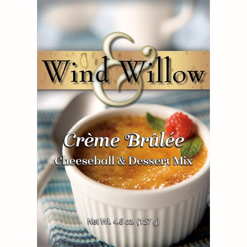 Wind & Willow Crème Brûlée Cheeseball and Dessert Mix