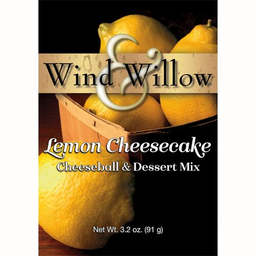 Wind & Willow Lemon Cheesecake Cheeseball and Dessert Mix