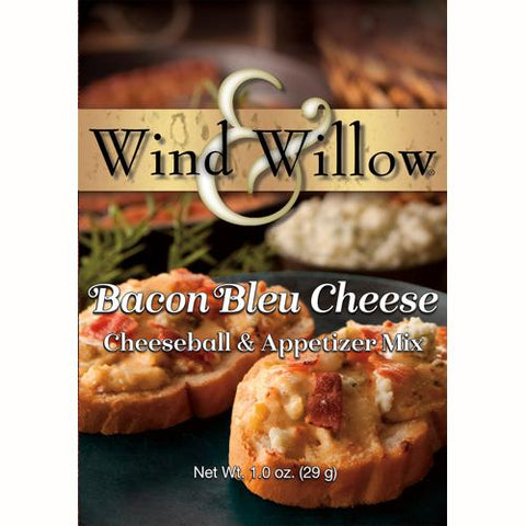 Wind & Willow Bacon Bleu Cheese Cheeseball and Appetizer Mix