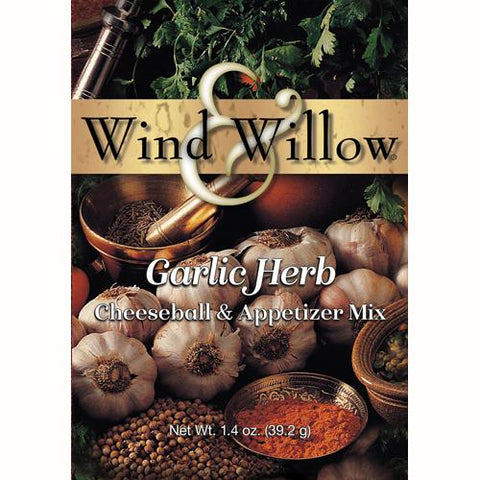 Wind & Willow Garlic Herb Cheeseball and Appetizer Mix