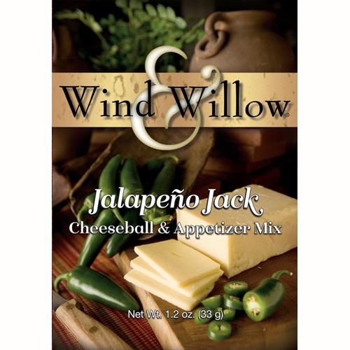 Wind & Willow Jalapeño Jack Cheeseball and Appetizer Mix