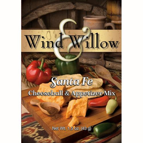 Wind & Willow Santa Fe Cheeseball and Appetizer Mix