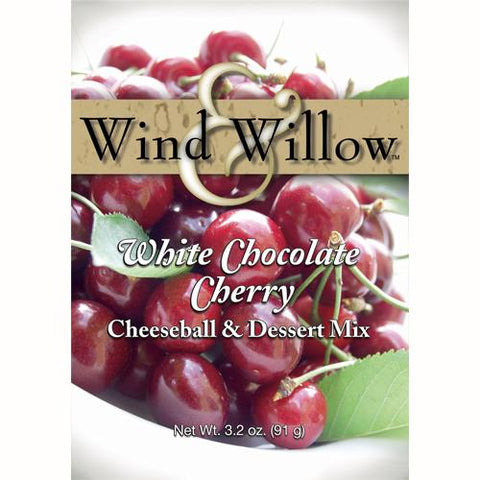 Wind & Willow White Chocolate Cherry Cheeseball and Dessert Mix