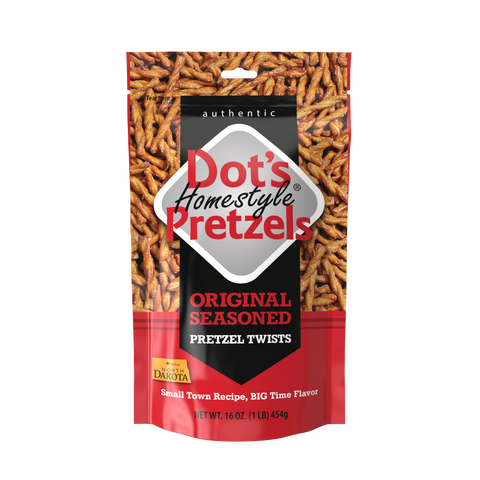 Dot's Homestyle Pretzels Original Seasoned - 16 oz bag