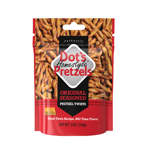 Dot's Homestyle Pretzels Original Seasoned - 5 oz bag