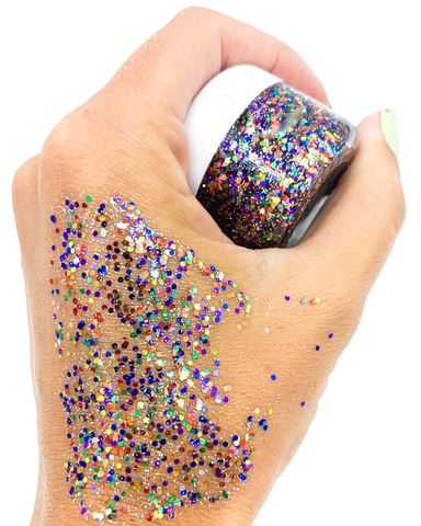 Get Glistered Gel - Confetti Queen