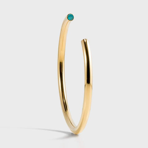 Stella Valle Birthstone Gold Plated Bracelet - December