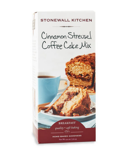 Stonewall Kitchen Cinnamon Streusel Coffee Cake Mix
