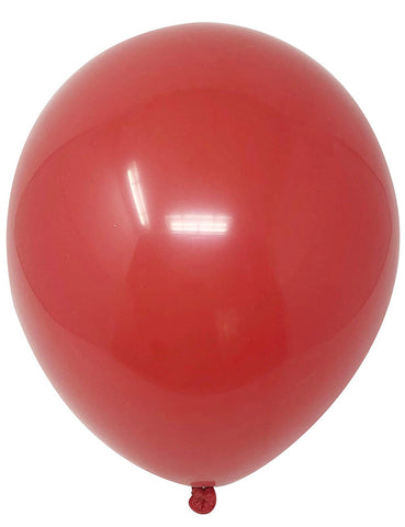 "12"" Inch Helium Latex Balloon - Red"