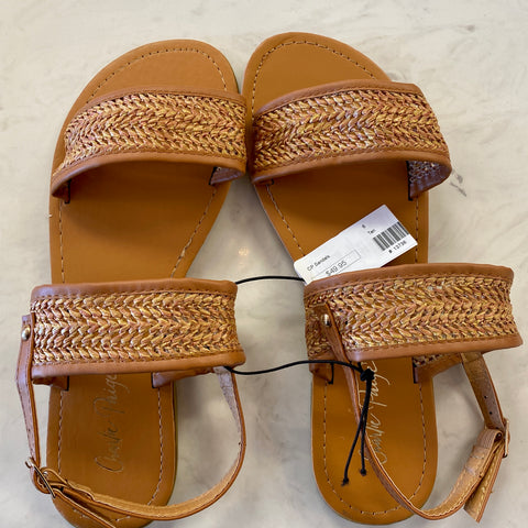 Charlie Paige New Brown Sandal