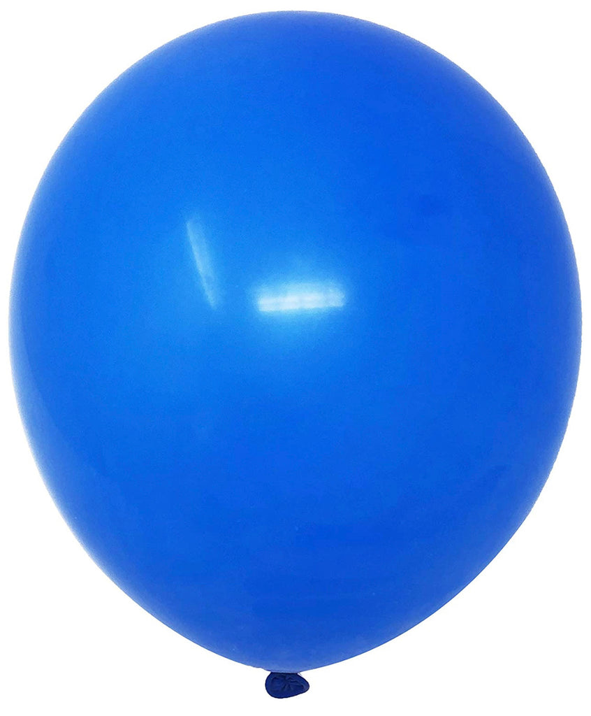 "12"" Inch Helium Latex Balloon - Blue"