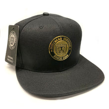 Load image into Gallery viewer, Hat Metallic Gold Puedmag Logo - Puedmag Inkpire