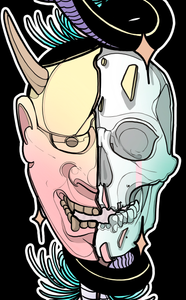 Two Face by Storbo - Puedmag Inkpire