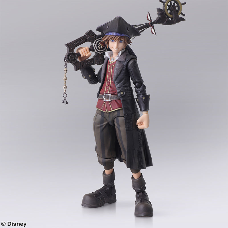 Sora Kingdom Hearts III Bring Arts Pirates of the Caribbean Ver.