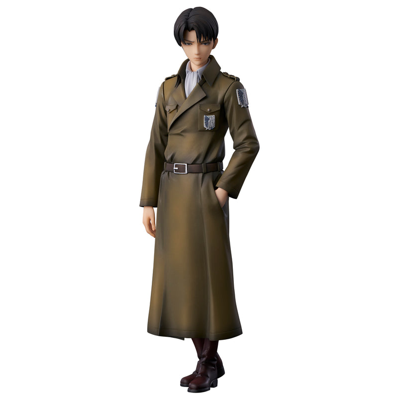 "Levi ""Attack on Titan"" Coat Style"