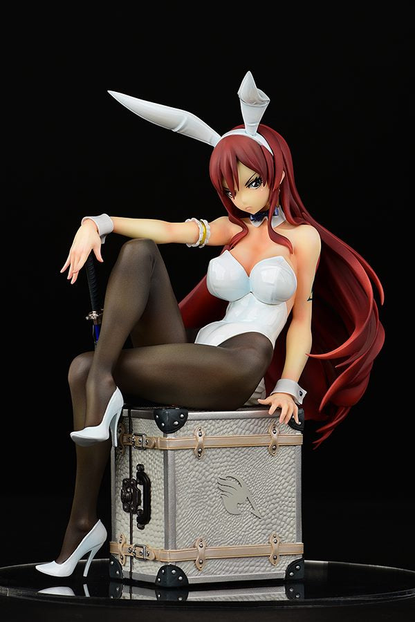 Erza Scarlet from Fairy Tail Bunny Girl in White