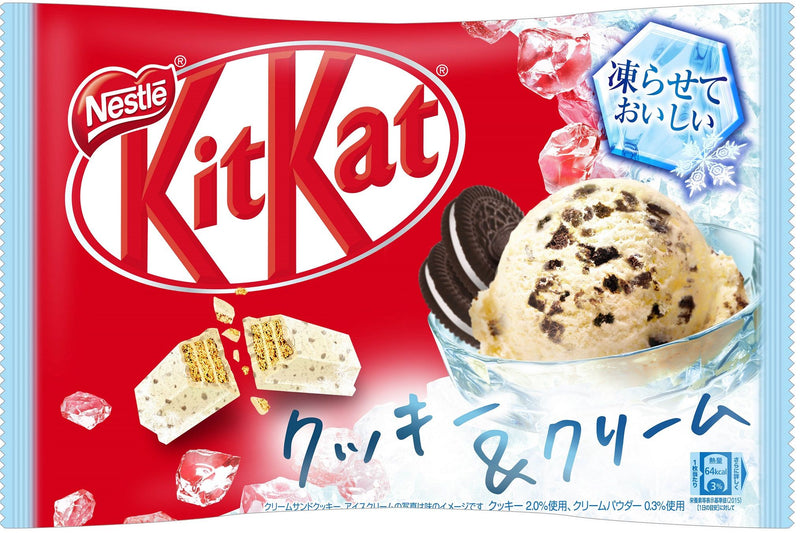 Kit Kat - Cookies and Cream Ice Cream Flavor