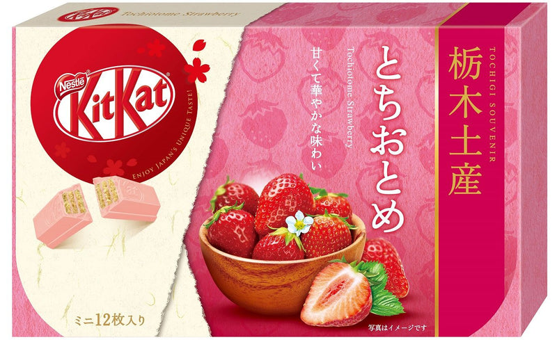 Kit Kat Tochigi Tochitome Strawberry Flavor