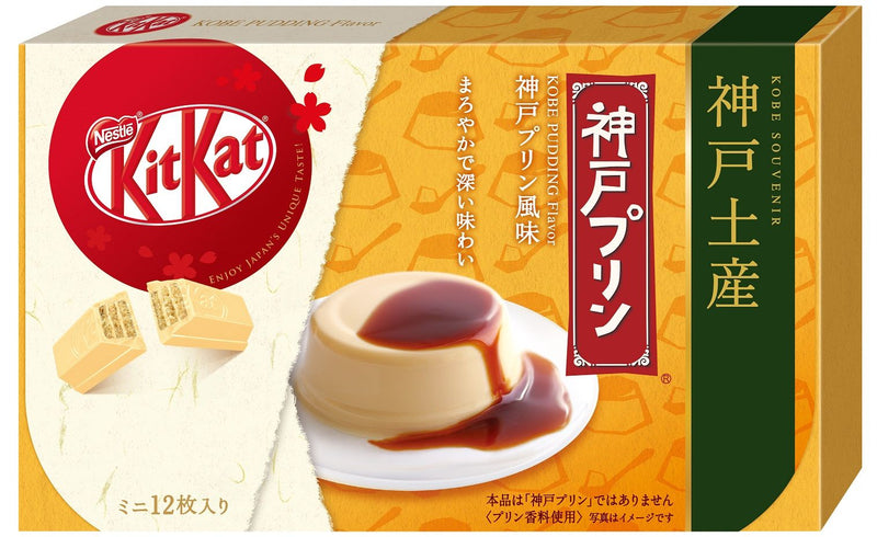 Kit Kat Kobe Pudding Flavor
