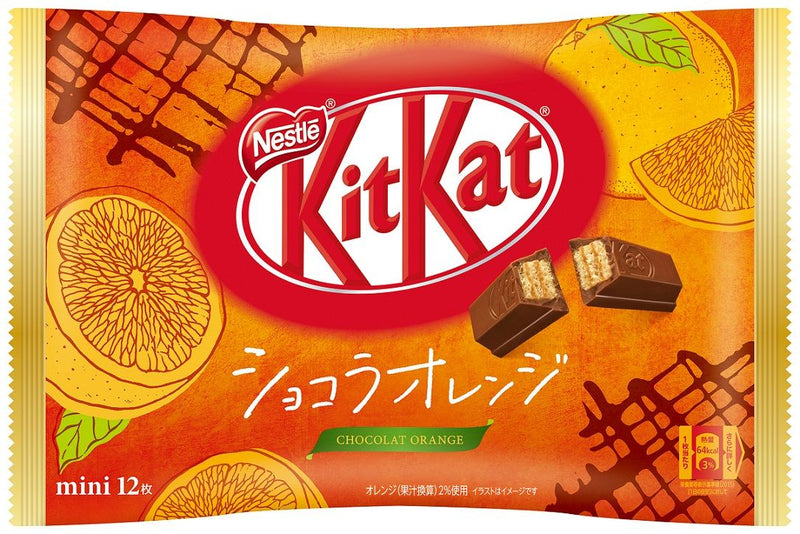 Kit Kat - Orange Chocolate Flavor