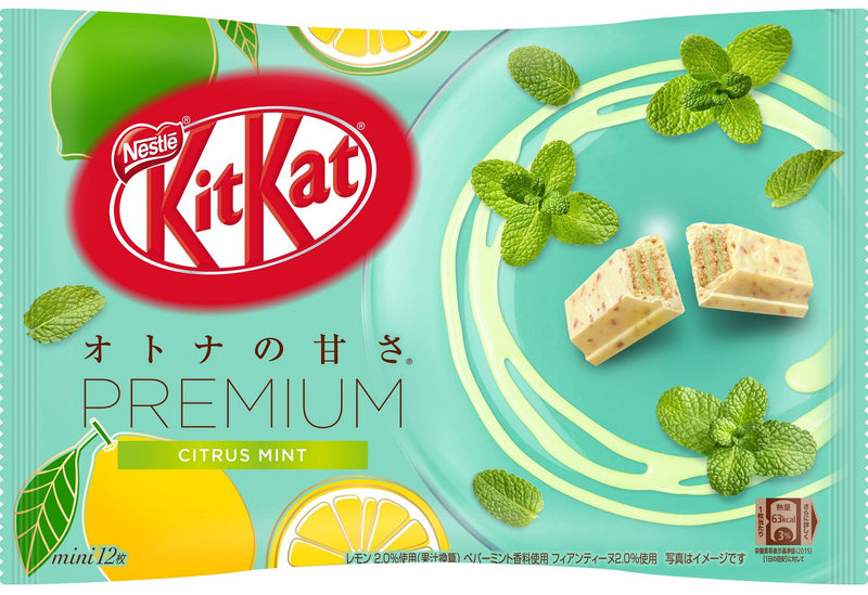 Kit Kat Premium - Citrus Mint Flavor