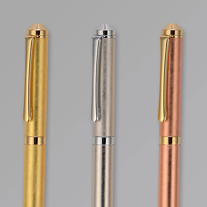Hakuichi Gold Leaf Brass Ballpoint Pen