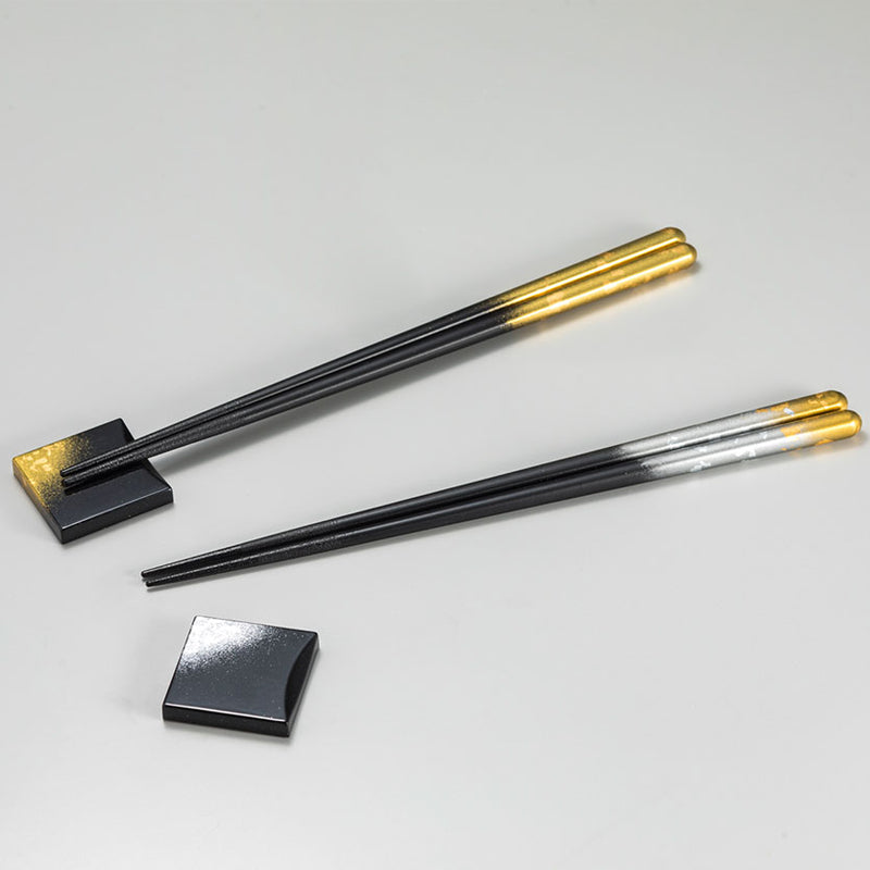 Hakuichi Gold Leaf Chopsticks Set of Two