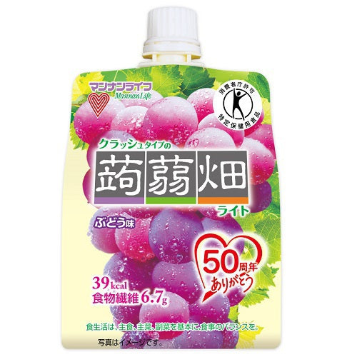 Fruit Jelly Pouch Drink (Grape, Muscat, Peach)