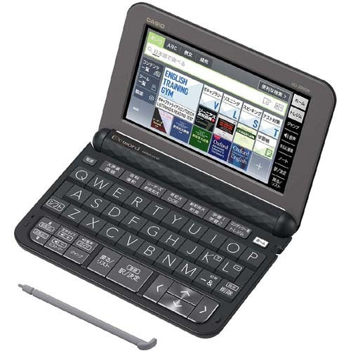 Casio EX-word XD-Z9800 Japanese-English Electronic Dictionary w/Stylus (2018 Model)