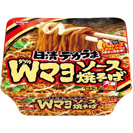 Double Sauce Yakisoba Fried Noodles - Nissin