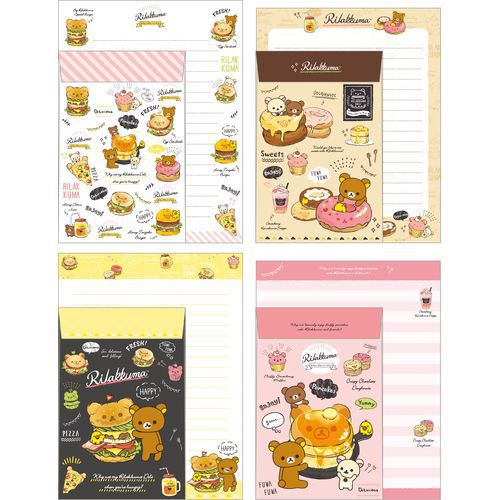 Rilakkuma Stationary Letter Set