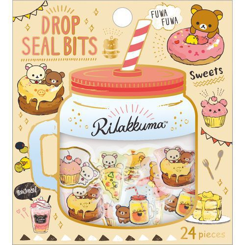 Rilakkuma Food Stickers