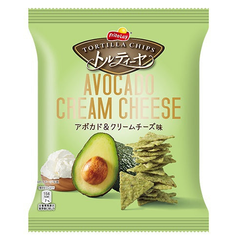 Avocado Cream Cheese Tortilla Chips by Frito Lay