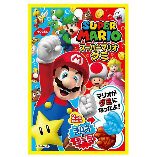 Super Mario Ramune and Cola Gummy