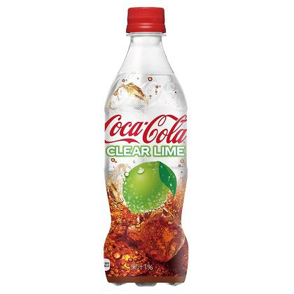 Coca-Cola (Coke) Clear Lime