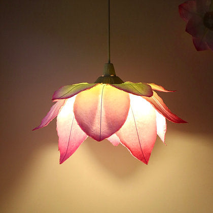 Lotus Flower Lamp Shade by Sachie Muramatsu