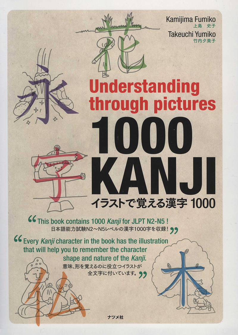 Understanding through pictures 1000 Kanji Cover