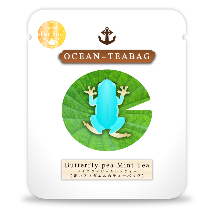 Frog Mint Tea by Ocean Tea Bag