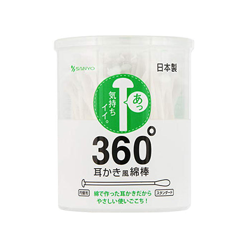 360° Cotton Buds