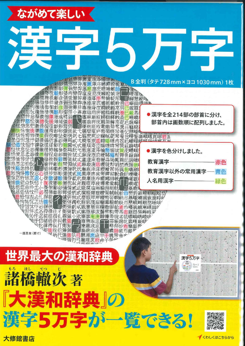 50,000 Interesting Kanji - Poster