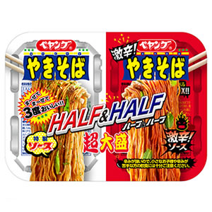 Yakisoba Noodles Half and Half Spicy (BIG SIZE)