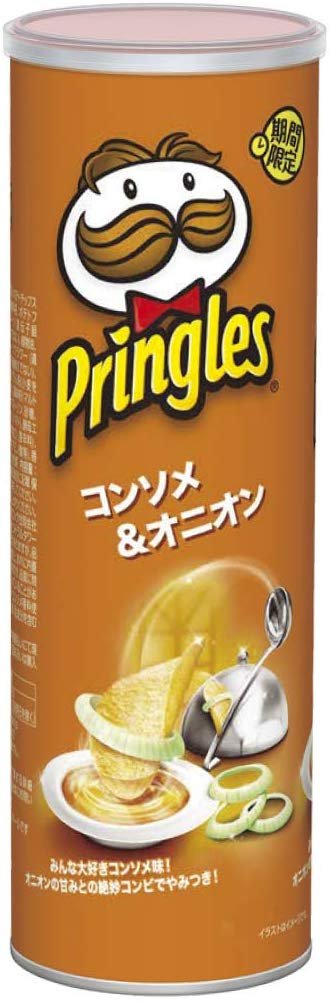 Pringles - Consomme and Onion Flavor