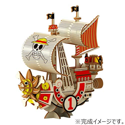 One Piece Thousand Sunny Ship Ki-Gu-Mi Wooden Puzzle