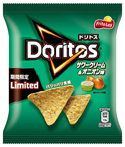 Doritos Sour Cream and Onion Flavor - Limited Edition